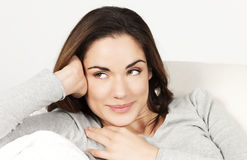 Portrait of cute woman Royalty Free Stock Photo