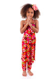 Cute young African Asian girl - Asian children royalty free stock photo