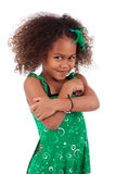 Cute young African Asian girl Stock Images