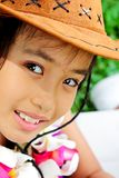 Portrait of cute young asian girl Royalty Free Stock Photography