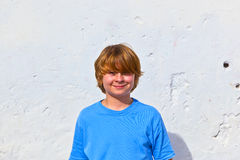 Portrait of cute young boy Stock Photo
