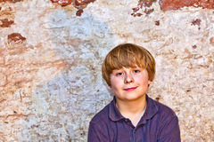 Portrait of a cute young boy Stock Photo