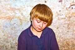 Portrait of a cute young boy Royalty Free Stock Photography