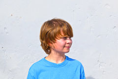Portrait of cute young boy Royalty Free Stock Images
