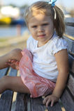 Portrait of cute young girl Royalty Free Stock Photography