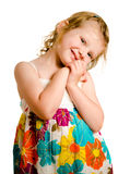 Portrait of cute young girl Stock Photography