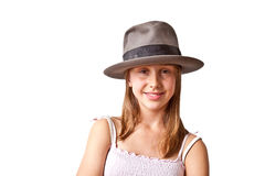 Portrait of cute young girl Royalty Free Stock Image