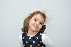 Portrait of a cute young girl Royalty Free Stock Image