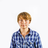 Portrait of  cute young happy boy Stock Photography