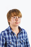 Portrait of  cute young happy boy Royalty Free Stock Photography