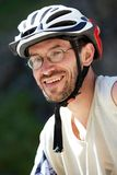Portrait of a cyclist Royalty Free Stock Image