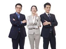 Portrait d'équipe asiatique d'affaires photographie stock
