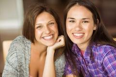 Portrait d'étudiant de sourire d'amis Image libre de droits