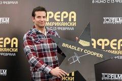 Portrait d'acteur Bradley Cooper Images libres de droits