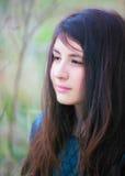 Portrait d'adolescente photographie stock libre de droits