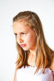 Portrait d'adolescente mignonne Photographie stock