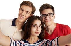 Portrait d'adolescents Images stock