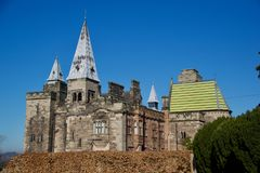 Portrait d'Alton Castle gothique photographie stock libre de droits