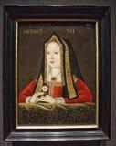 Portrait d'Elizabeth de York image libre de droits