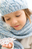 Portrait d'hiver Photos libres de droits