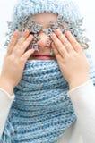 Portrait d'hiver Image libre de droits