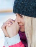 Portrait d'hiver Image stock