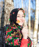 Hiver russe Photo stock
