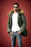 Portrait d'homme Photo stock