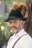 Portrait d'homme bavarois image stock