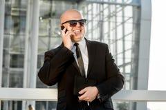 Portrait d'homme d'affaires Photographie stock