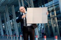 Portrait d'homme d'affaires Photos stock