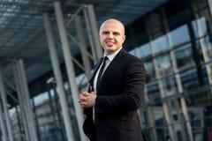 Portrait d'homme d'affaires Images stock