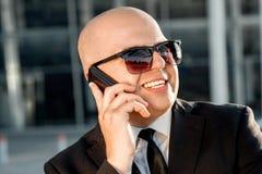 Portrait d'homme d'affaires Image libre de droits