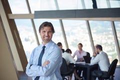Portrait d'homme d'affaires de handosme Image libre de droits