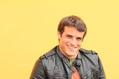Portrait d'homme de sourire Images libres de droits