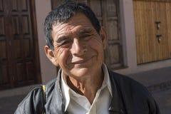 Portrait d'homme de sourire amical dans Chiapas Photo libre de droits