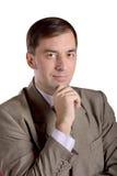 Portrait d'homme de style ancien - photo courante Image stock