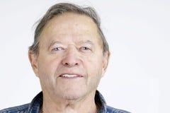 Portrait d'homme supérieur Photo stock