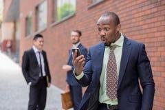 Portrait d'équipe ethnique multi d'affaires Images stock