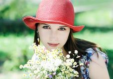 Portrait d'été Photo libre de droits