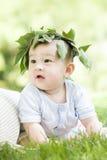 Portrait d'un bébé Photographie stock