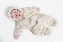 Portrait d'un bébé photo stock