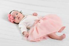 Portrait d'un bébé image stock