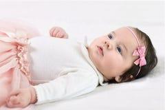 Portrait d'un bébé images stock