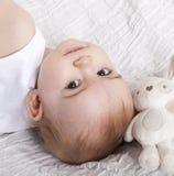Portrait d'un bébé Photos libres de droits