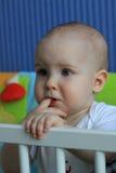 Portrait d'un bébé de 11 mois Photographie stock libre de droits