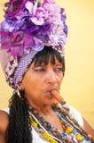Portrait d'un Costumista - une La Havane, Cuba Photographie stock libre de droits