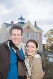 Portrait d'un couple hétérosexuel photo libre de droits