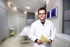 Portrait d'un docteur Photographie stock