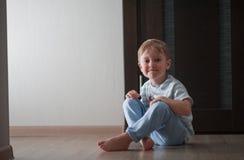 Portrait d'un enfant Photo libre de droits